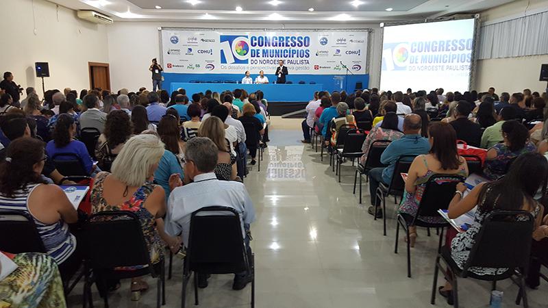 10º Congresso de Municipios do Noroeste Paulista 2016