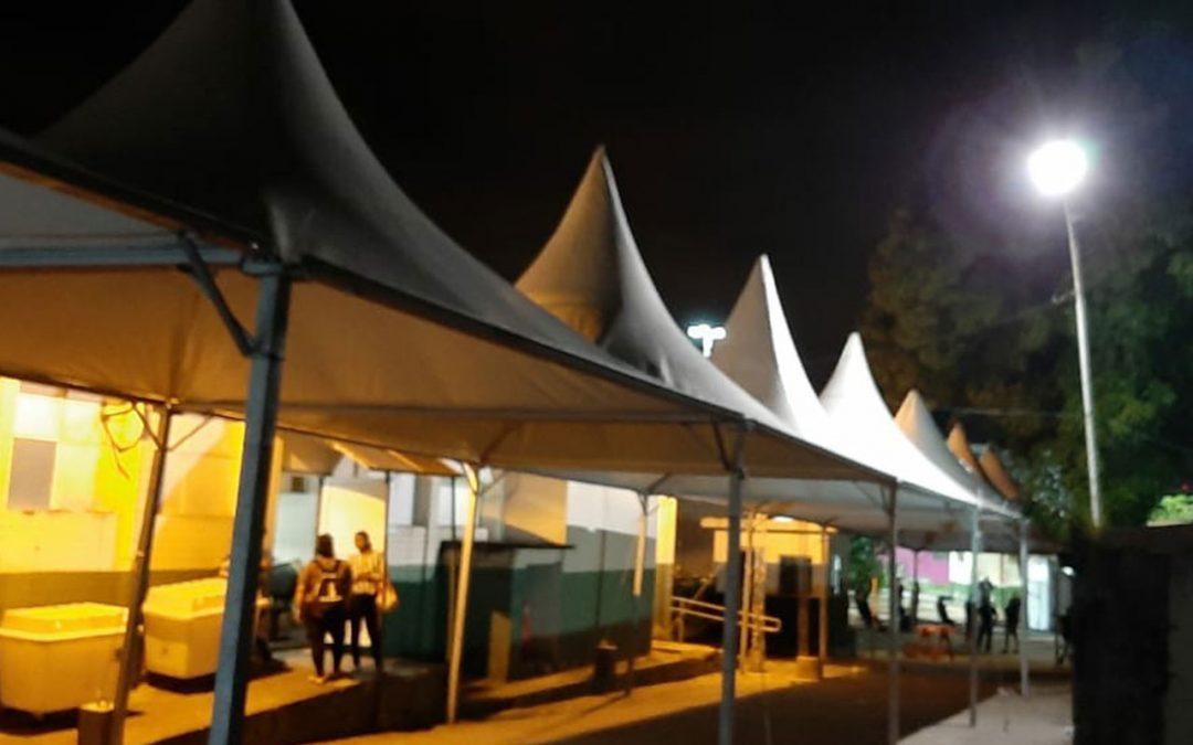 Cape monta estrutura para combate ao novo coronavírus em Cubatão